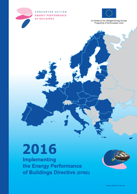 Book: 2016 – Implementing the Energy Performance of Buildings Directive (EPBD)